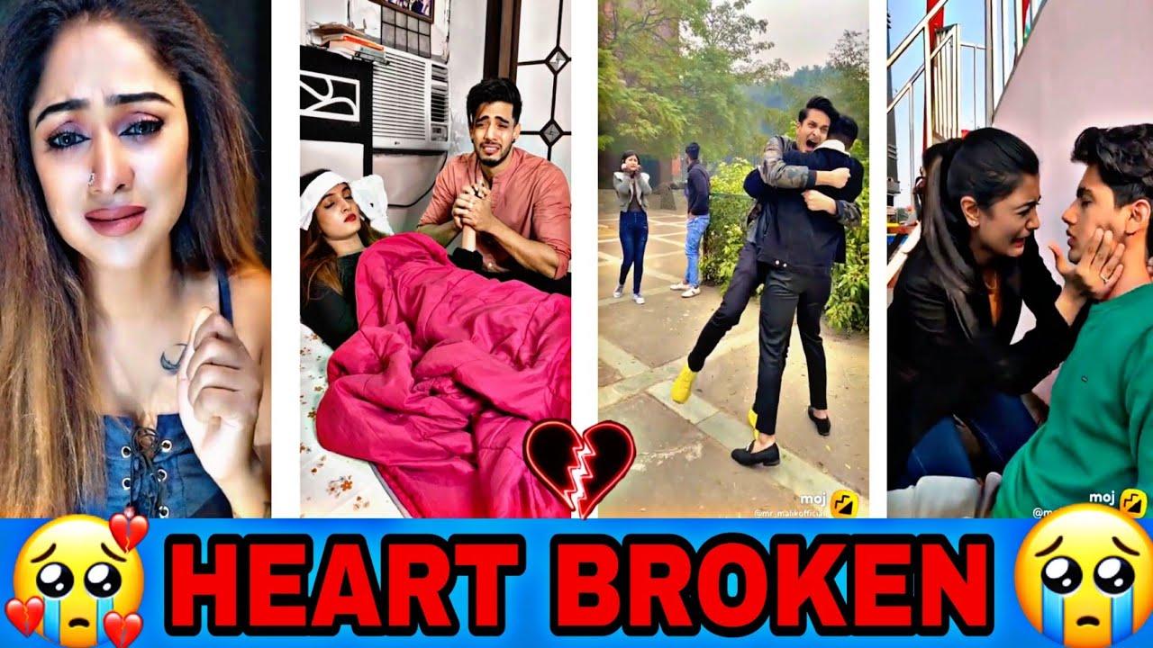 Breakup 💔💔💔 Tik Tok Videos    Sad Tik Tok Videos    ``Tik Tok Videos``    Tik Tok  moj and moj video