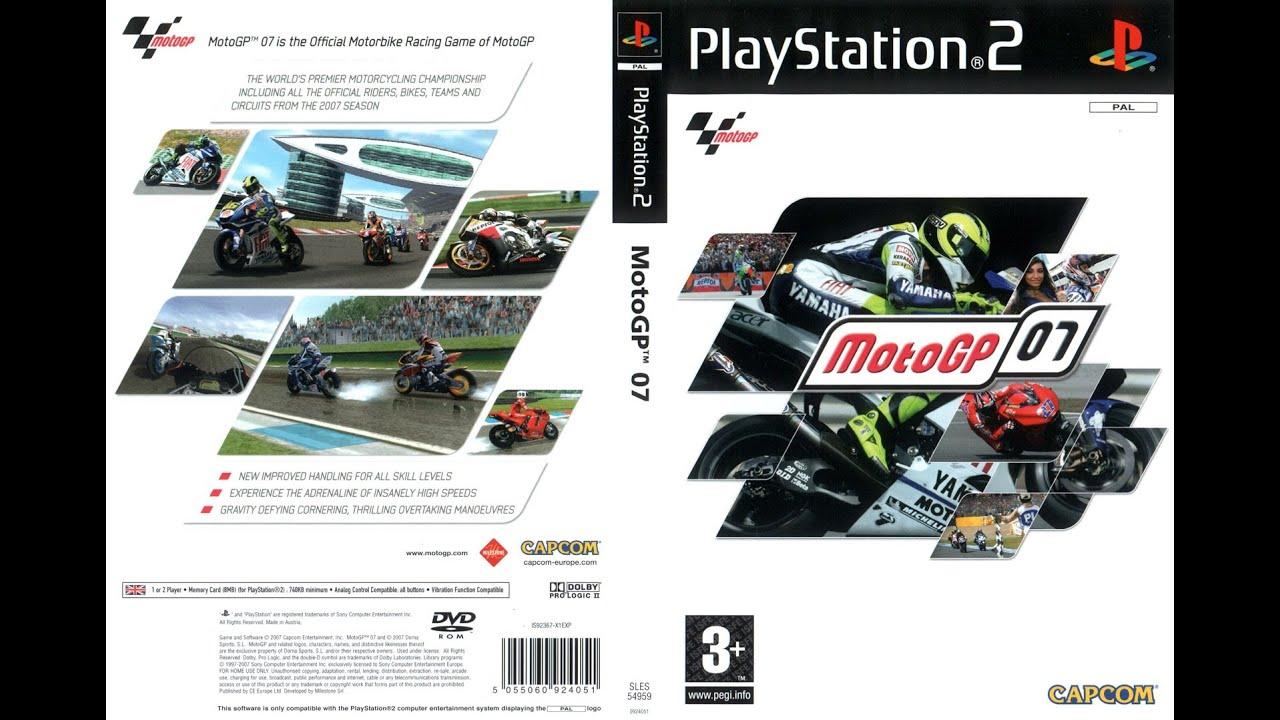 [PS2] MotoGP '07 Gameplay [PCSX2][1080p] HD - YouTube
