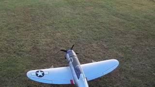 eflite p 47 razorback 1 2m 2nd and 3rd flights