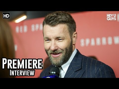 Joel Edgerton - Red Sparrow Premiere Interview