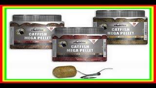 Бойлы на сома PredatorZ Catfish Mega Pellet (пеллетсы) + вид под водой