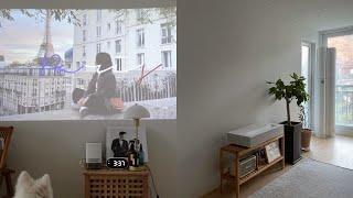 티비 없이 빔으로만 3년동안 산 사람의 LG 시네빔 리…