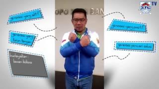 Pesan kepada seluruh anggota XTC Indonesia dari bapak Ridwan kamil ...