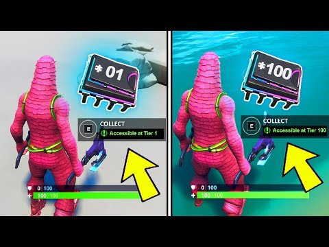 ALL FORTBYTE LOCATIONS! 1-100 FOUND ALL FORTBYTES FORTNITE (80-100) PART 5