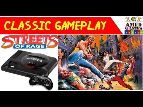 Classic Game Streets of Rage gameplay Sega Genesis