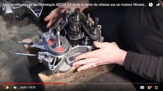 Tuto montage du vilebrequin ARTEK K2 et de la boite de vitesse sur un moteur Minarelli AM6