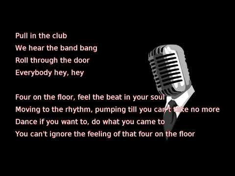 Lee Brice   Four On The Floor (lyrics)