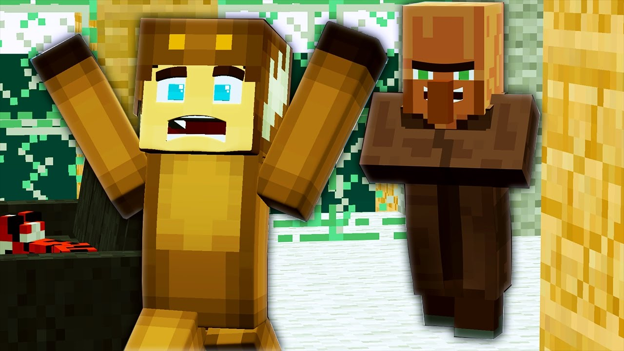 Minecraft Murder - KILLER VILLAGERS ?! (Minecraft Roleplay) - YouTube
