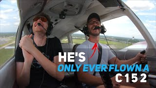 Student Pilot Lands A PA28 For The First Time