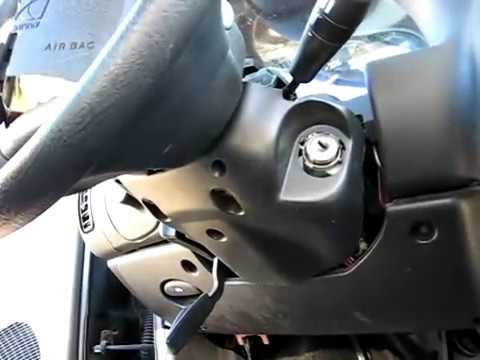 ignition lock cylinder removal - youtube