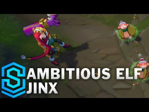 Ambitious Elf Jinx Skin Spotlight - Pre-Release - League of Legends