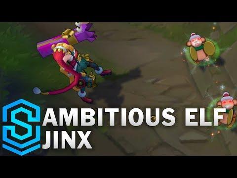 Ambitious Elf Jinx Skin Spotlight - Pre-Release - League of Legends