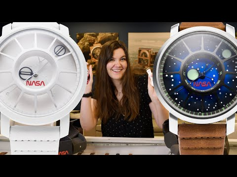 Unboxing The Trappist 1 NASA Edition Watch By Xeric