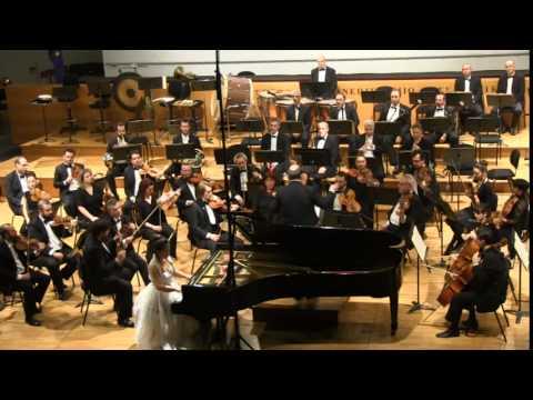 [2014.02.07] Pianinst Heejung Park, Aristotle University Hall in Thessaloniki, Greece