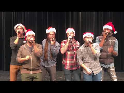 Six Appeal - What Christmas Means To Me - Live A Cappella Cover