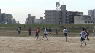 2011-03-06 墨田区民体育大会(春)トーナメント 予選 星野屋スナックスVS FC.SATAN.