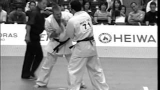 36 Чемпионат Японии. Макс Дедик. Фрагмент боя