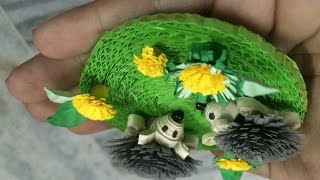 3d quilling miniature