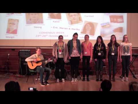 Comenius UK Welcome concert 20th Oct 2014 Pt. 2