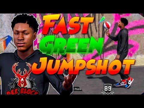 FAST GREEN JUMPSHOT FOR ALL ARCHETYPES! NBA 2K18 BEST JUMPSHOT!