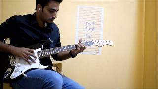 Pink Floyd - Comfortably numb - Guitar solo cover (PULSE version)