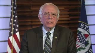 Bernie Sanders Responds To POTUS Trump's National Address