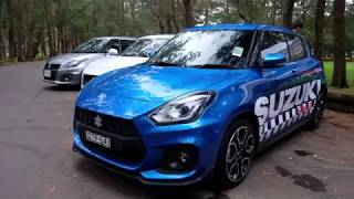 ZC33S 2018 Suzuki Swift Sport - Test Drive Day - Sydney March 2018