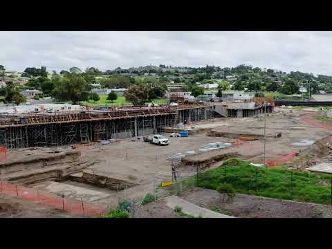 Wulanda Recreation and Convention Centre - Construction Time-lapse January 2021