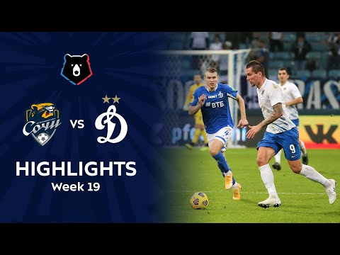 Sochi Dinamo Moscow Goals And Highlights