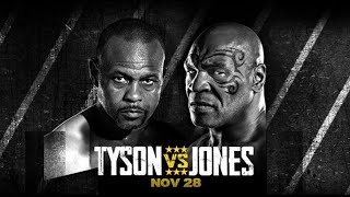 Mike Tyson vs Roy Jones Jr | Live Coverage