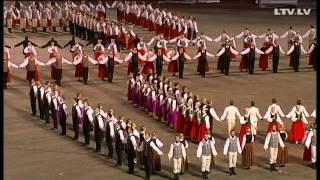 """Dziesmu Un Deju Svētki 2013 - Deju Lieluzvedums """"Tēvu Laipas"""""""