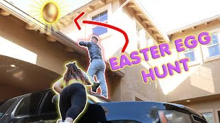 SLIME EASTER EGG HUNT! Easter eggs filled with slime!