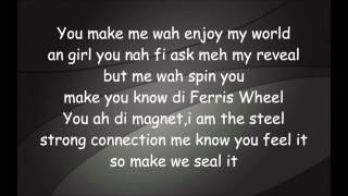 Sean Paul ft.Kelly Rowland-How Deep Is Your Love(Lyrics Video)