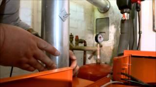 Die Bestandteile einer Gasheizung vom Hausanschluss bis zum Schornstein.