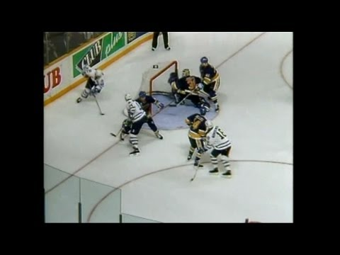 Blues @ Maple Leafs Game 1 1993 Playoffs - Game Highlights