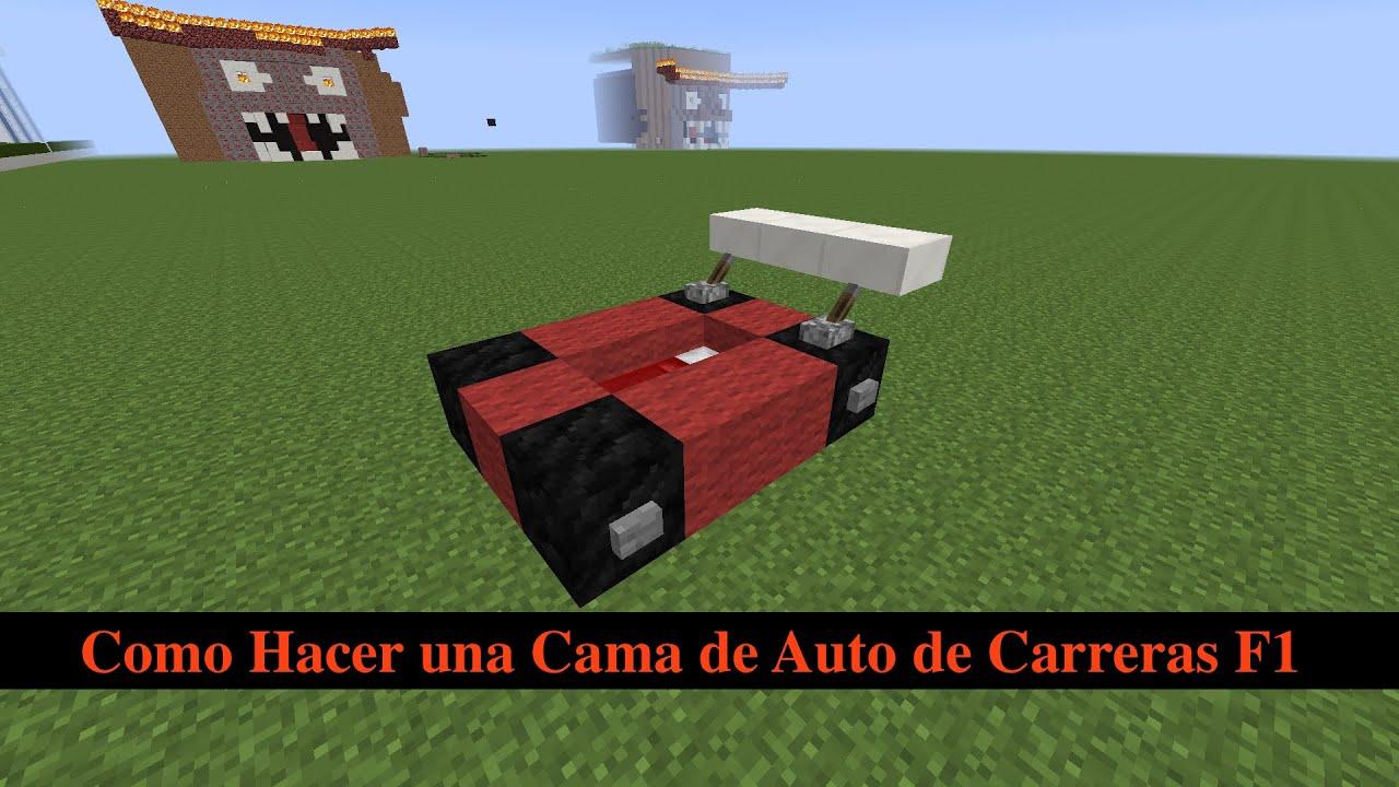 Como hacer una cama de auto de carreras f1 youtube - Como construir una cama ...