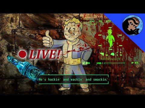 Fallout 4: SURVIVAL MODE LIVE! The far reaches of Far Harbor!
