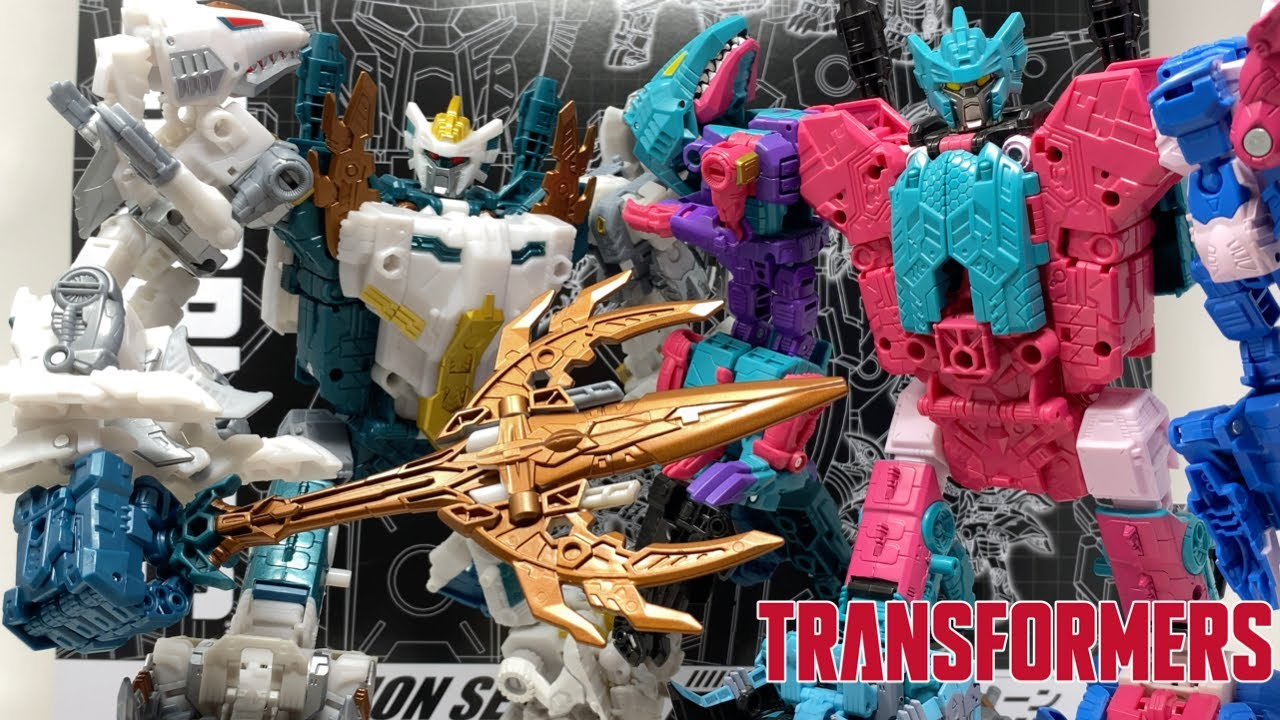 Transformers Generations Selects GOD NEPTUNE Comparison Review by PrimeVsPrime
