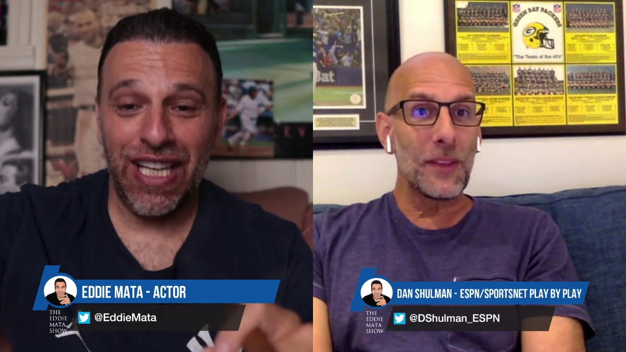 How To Announce Sports Games Espn And Sportsnet Play By Play Announcer Dan Shulman Youtube