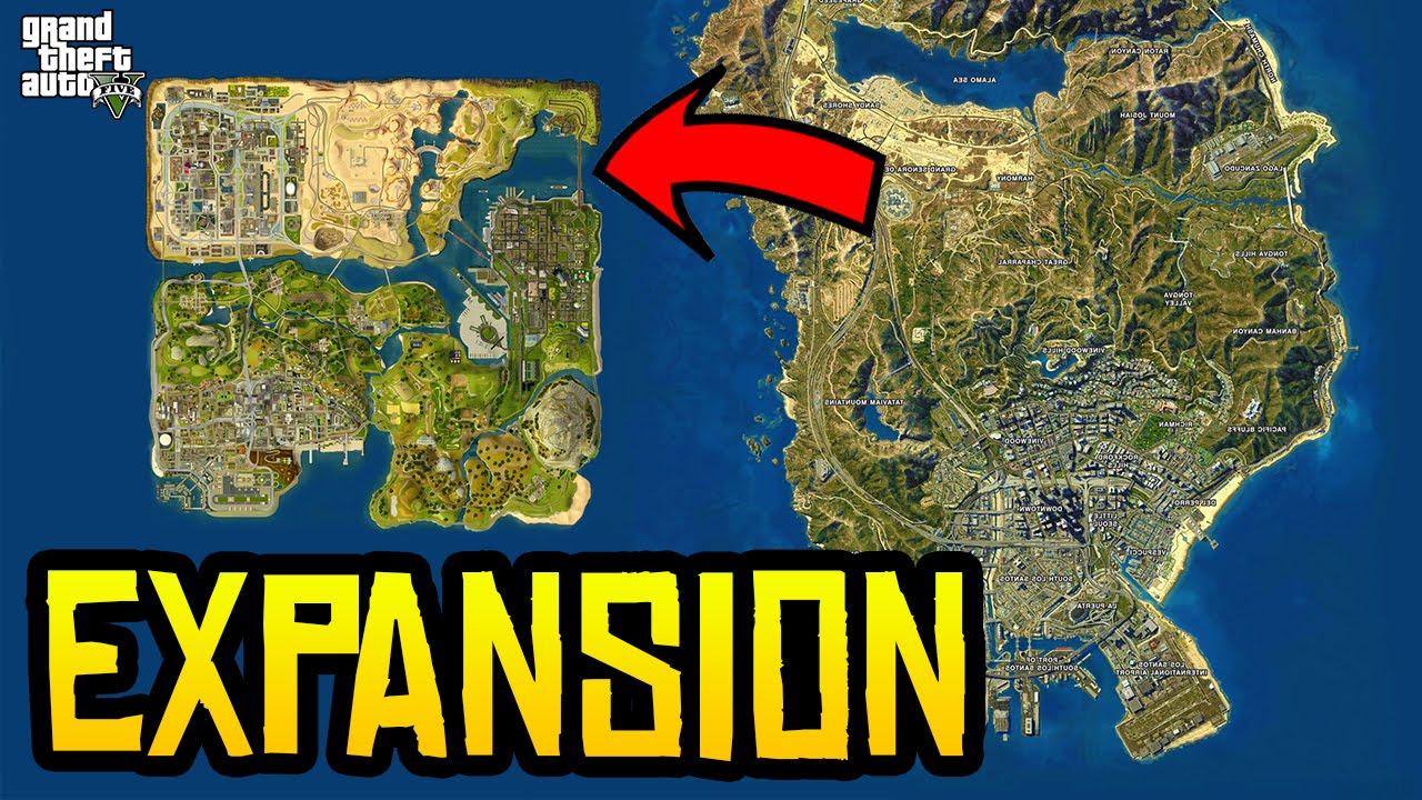 GTA 5 Liberty City Map Expansion DLC Trailer Screenshots, Details ...