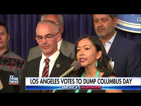 Columbus Day to be renamed Indigenous Peoples' Day in LA