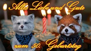 ❤️🍾 Alles Liebe & Gute zum 50. Geburtstag ❤️🍾 Happy Birthday to You ❤️🍾 FACERIG YouTube Video Gruß