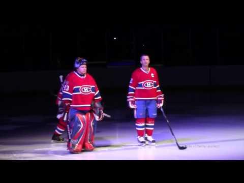 Match de hockey avec les anciens joueurs des Canadiens de Montréal