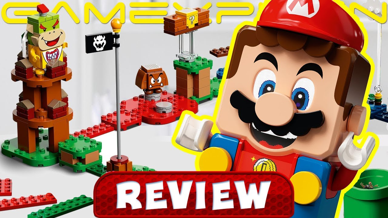 Is LEGO Super Mario Fun? - REVIEW (Video Game Video Review)