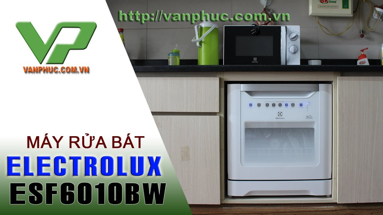 Máy rửa Bát 8 Bộ Electrolux ESF6010BW 1480W rửa được nồi