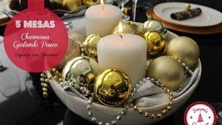 Natal sem Frescuras- 5 mesas de Natal criativas, charmosas e gastando pouco Thumbnail