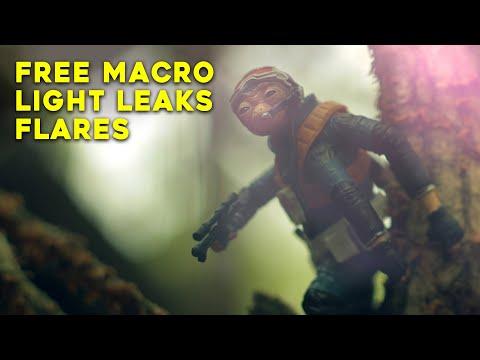 LENS TRICKS! Macro, Light Leaks, Anamorphic Lens Flares + ASMR