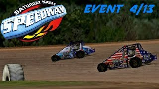 Saturday Night Speedway - Midget - 4/13 | Disrespectful Competition