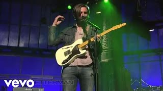 Band of Horses - Everything's Gonna Be Undone (Live On Letterman)