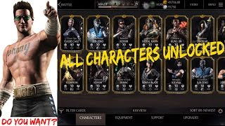 No Jailbreak:All characters unlocked,Unlimited Souls,Coins,Alien Credits Mortal kombat x Ios